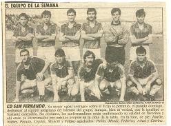 El CD San Fernando